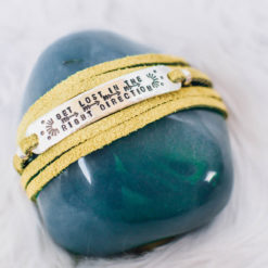 Get lost wrap bracelet