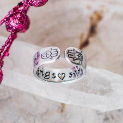 Hamsa hand Inspirational ring