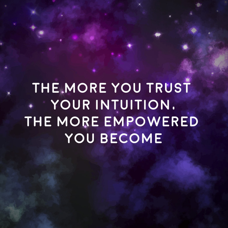 TheMoreYouTrustYourIntuition