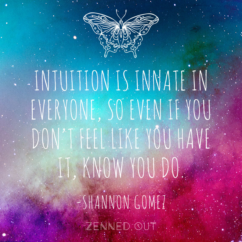 5 Quick Tips to Improve Your Intuition | Zenned Out