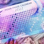 10 Topics for Moon Journaling + Free 2021 Moon Phase Calendar