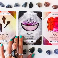 What crystals, symbols, and scents do you need most?