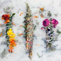 DIY Herb Sticks + Herb Meanings and Uses