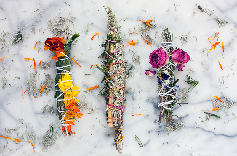 DIY Herb Sticks + Herb Meanings and Uses | Zenned Out