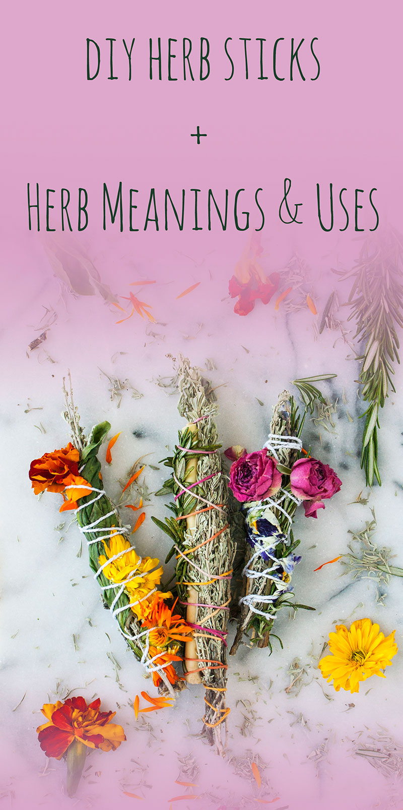 Pic3-diy-herb-sticks-herb-meanings-and-uses
