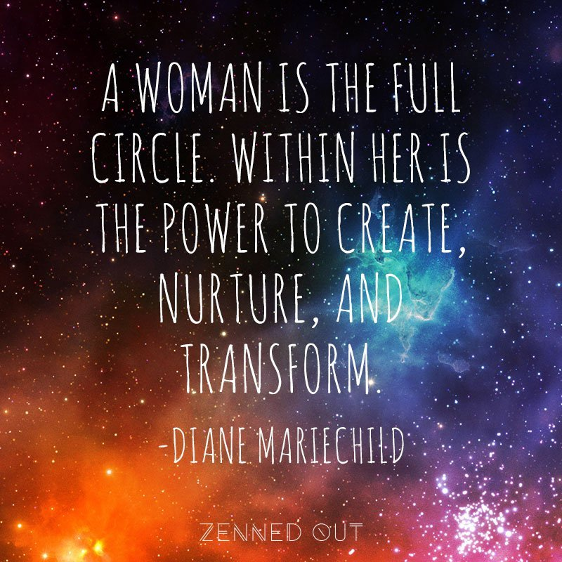 WomanFullCircleQuote