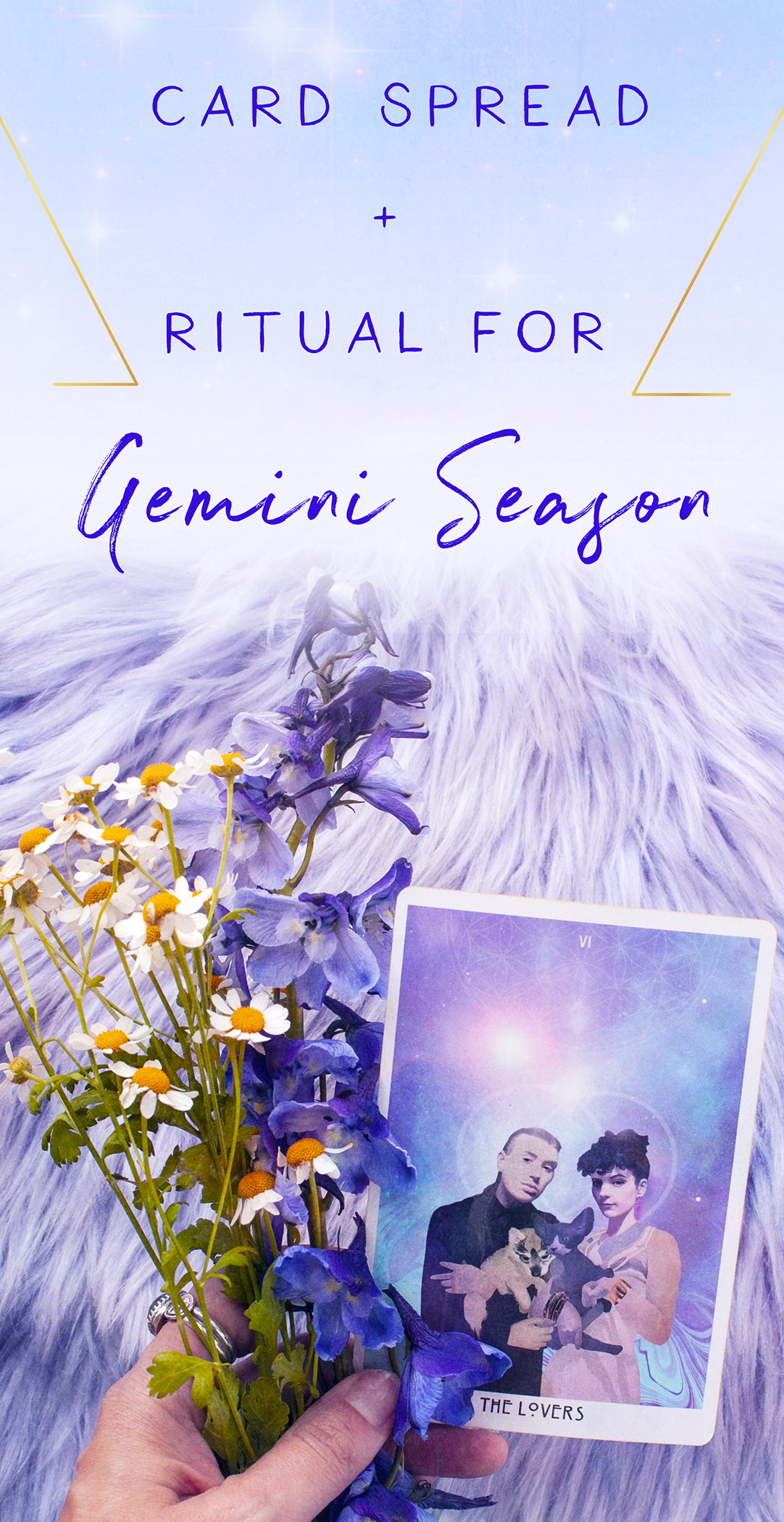 card spread and ritual for gemini season