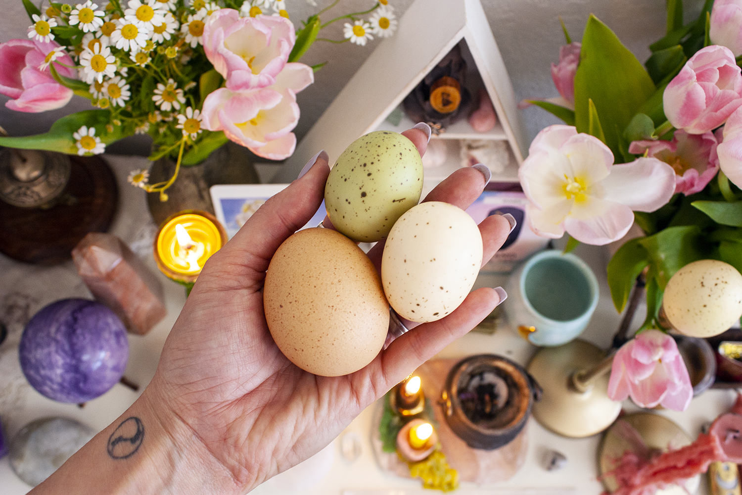 egg ritual for ostara egg magical history spring equinox rituals