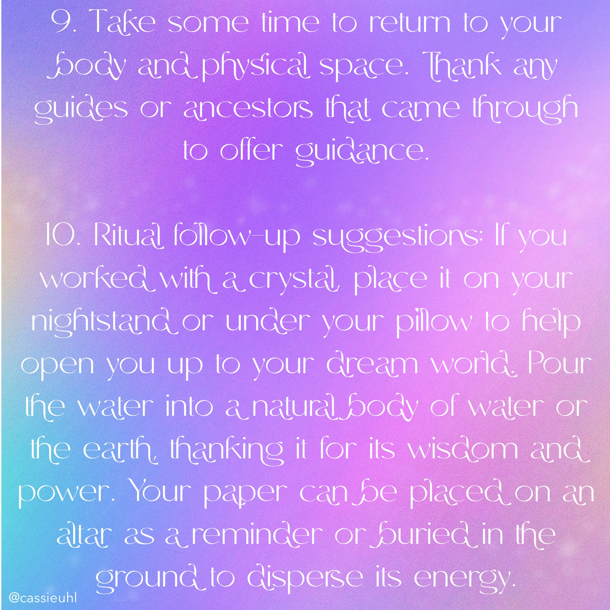 guided ritual for the pisces full moon