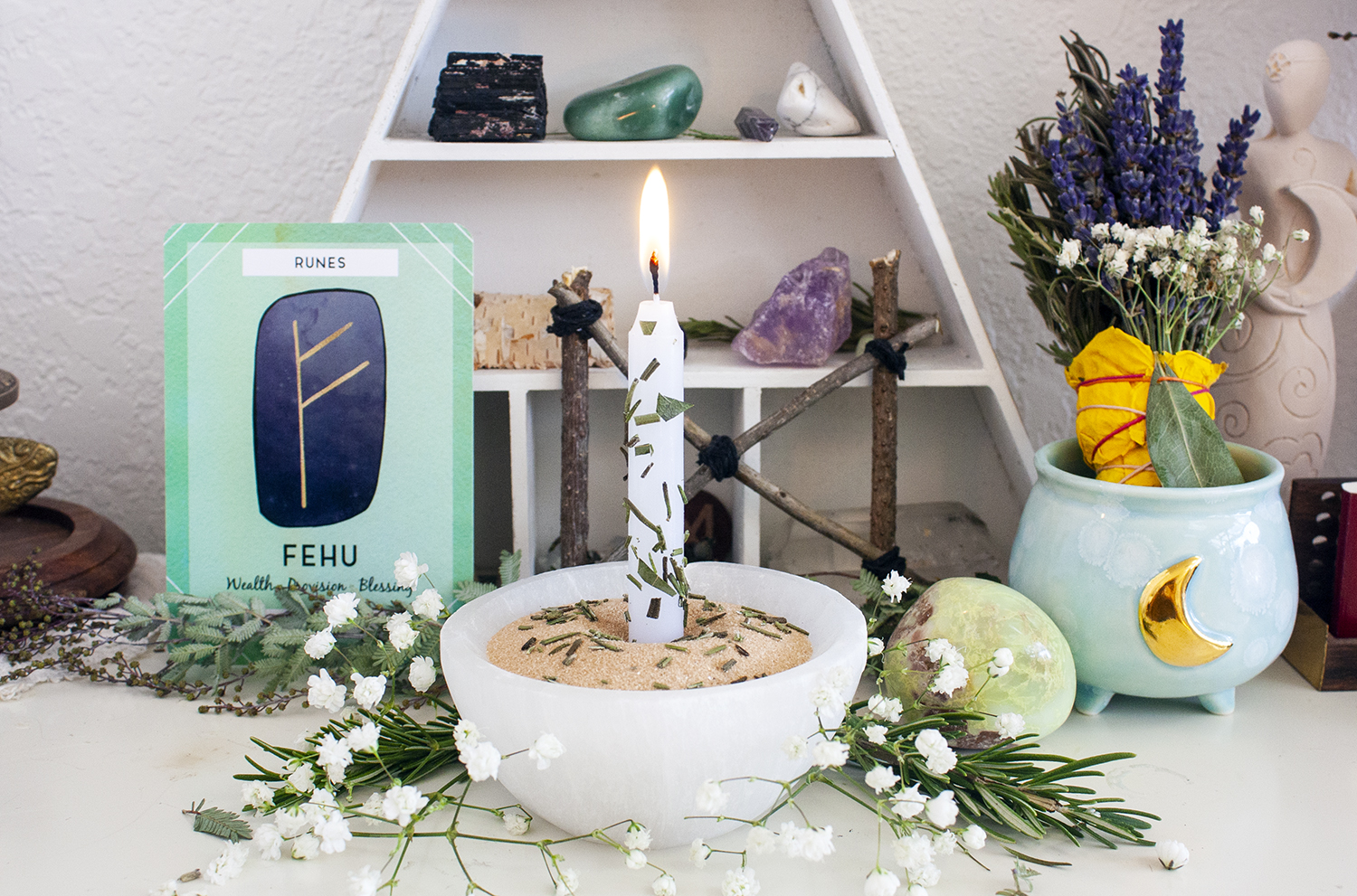 inspired growth imbolc ritual candle magic for imbolc