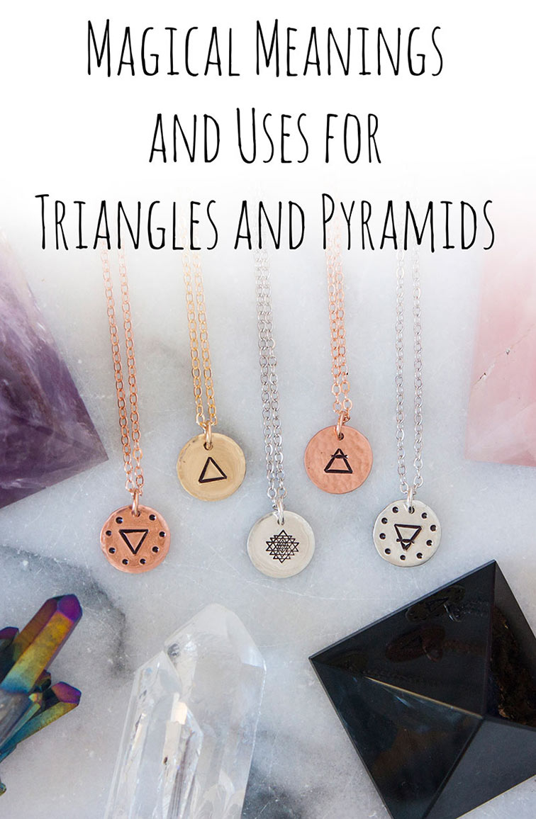 Magical Meanings Uses For Triangles Pyramids Zenned Out