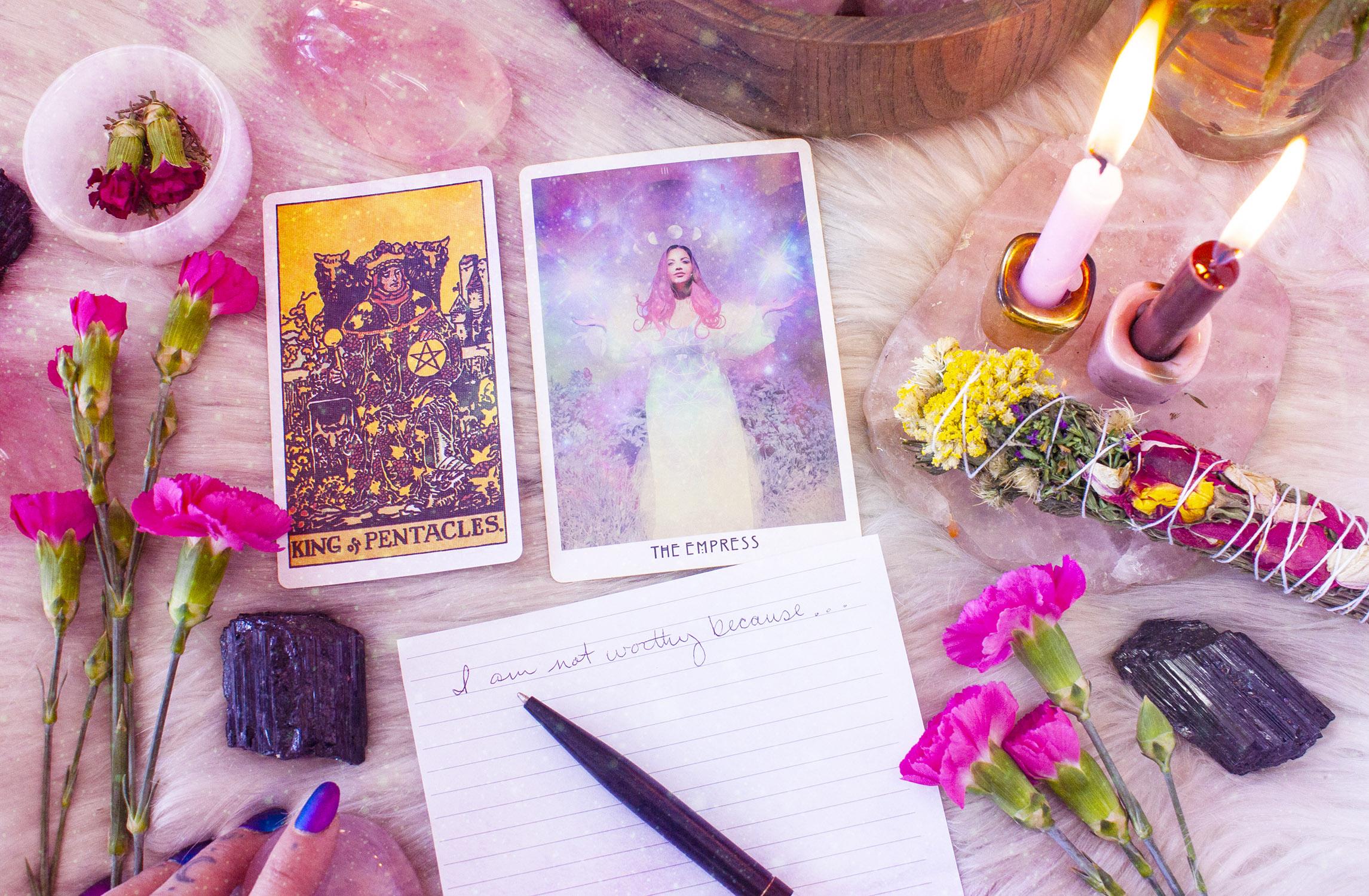 ritual and card spread for taurus season taurs card spread