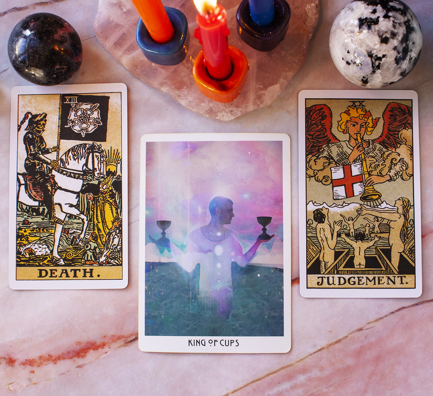 scorpio energy in the tarot