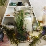 Winter Solstice & Yule Spell Jar for Rebirth