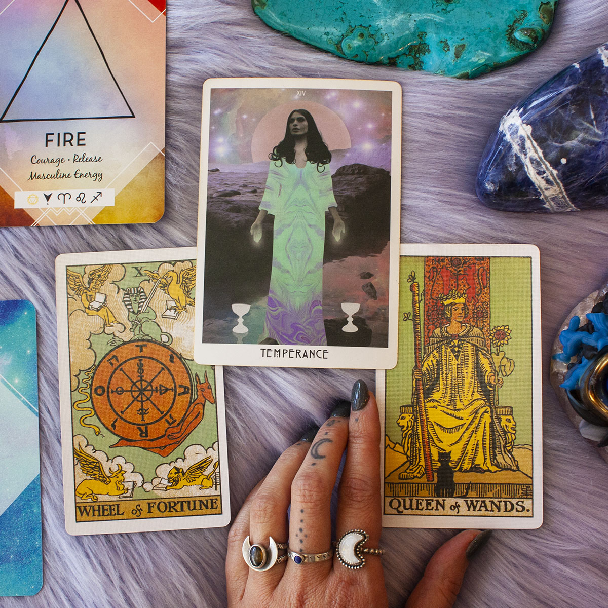 tarot cards for sagittarius season