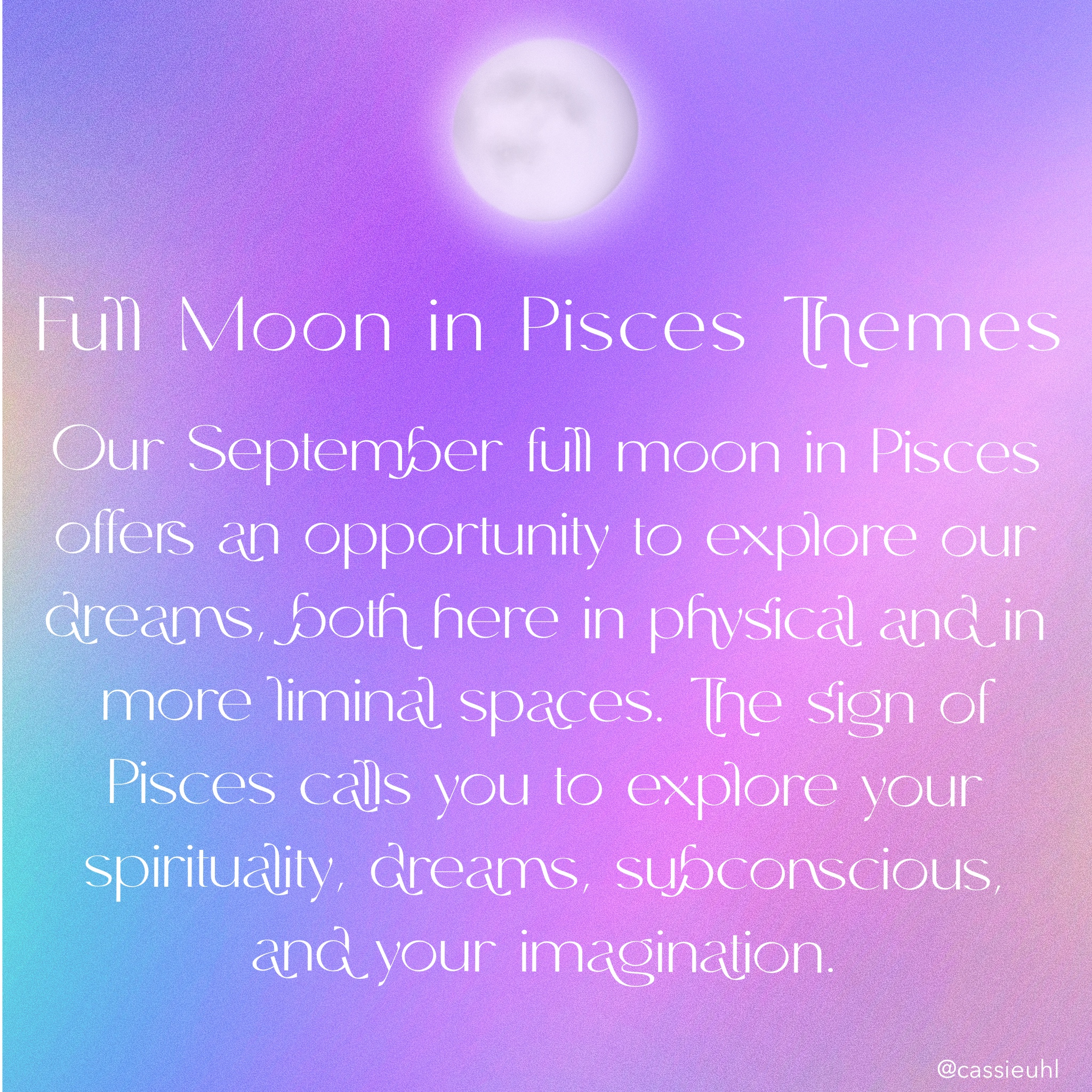 themes for the pisces full moon