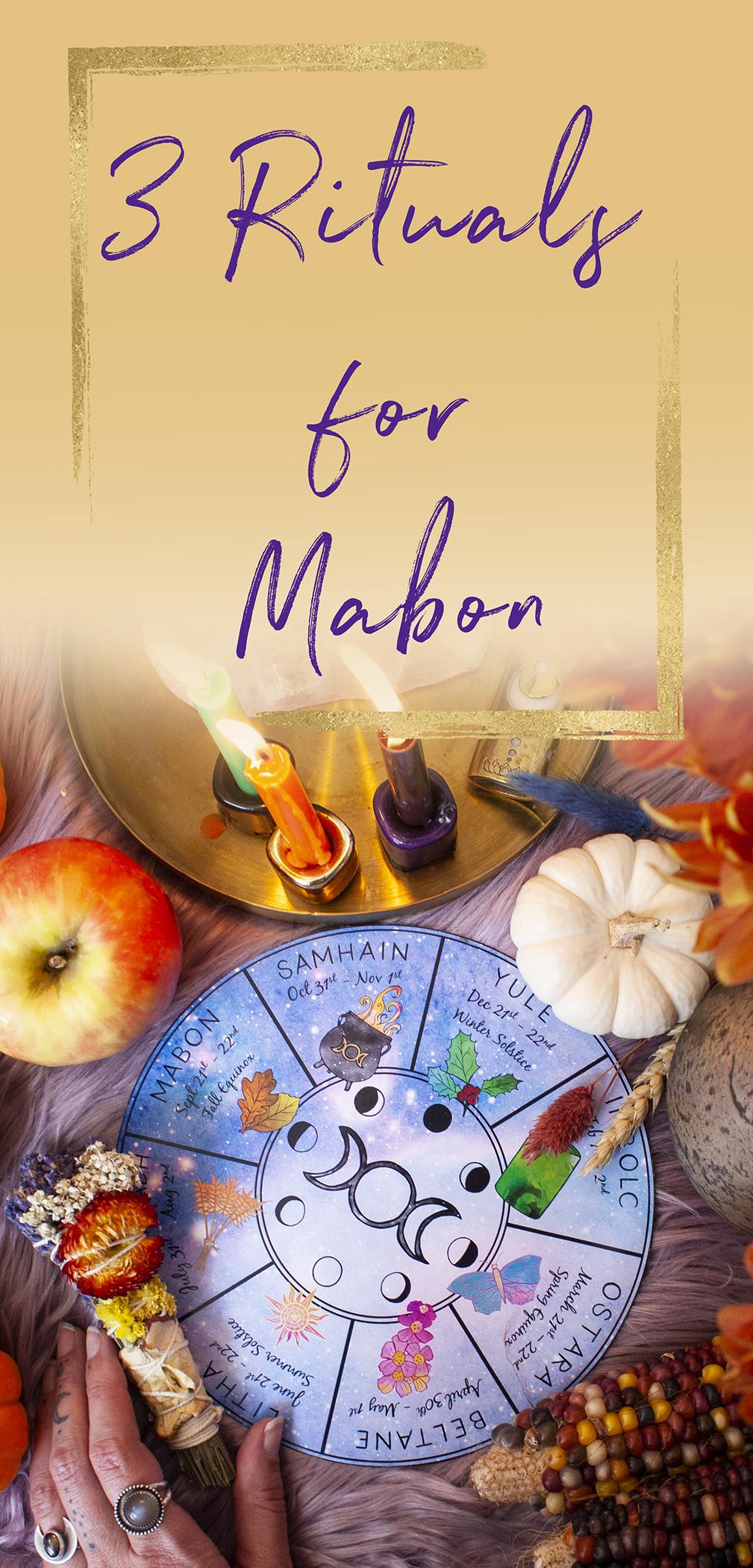 three rituals for mabon mabon rituals