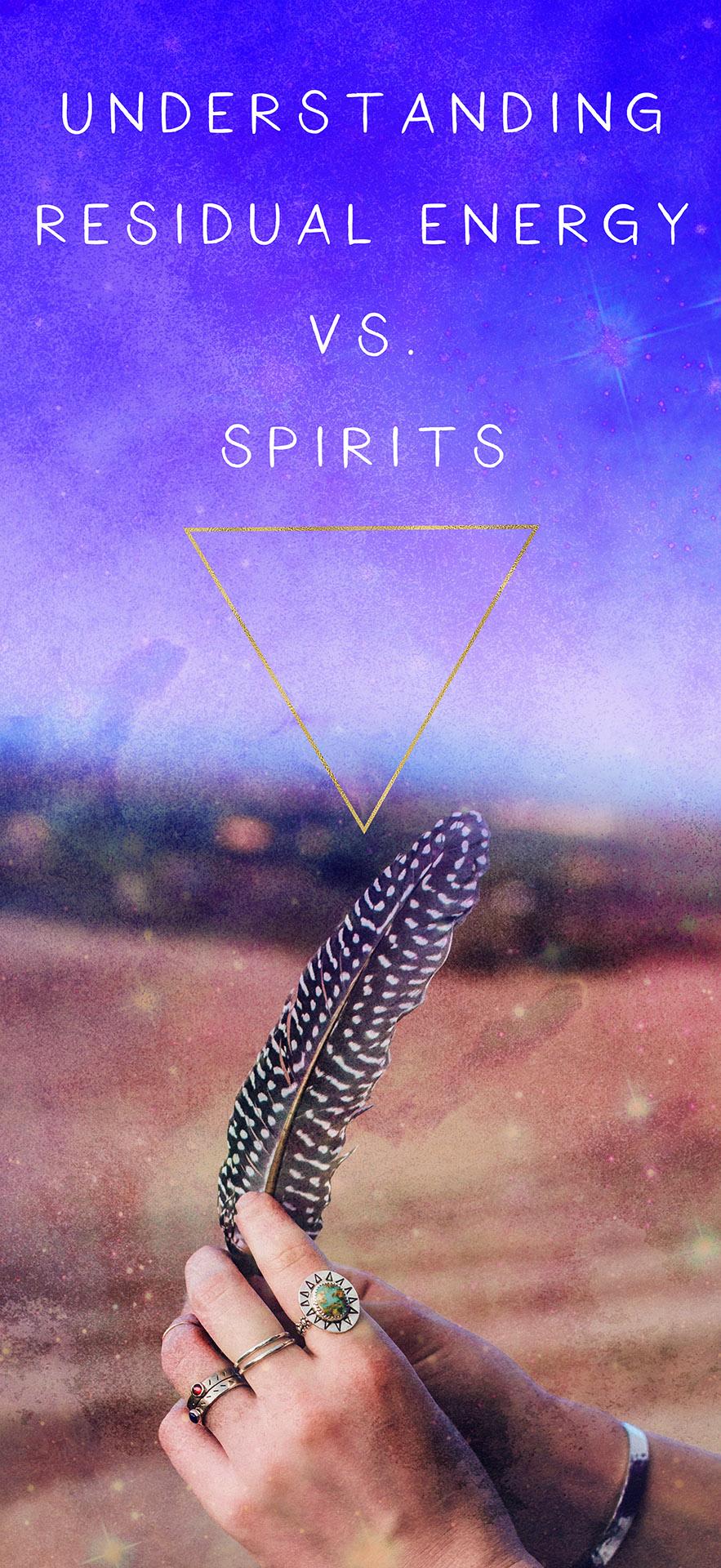 understanding residual energy vs spirits
