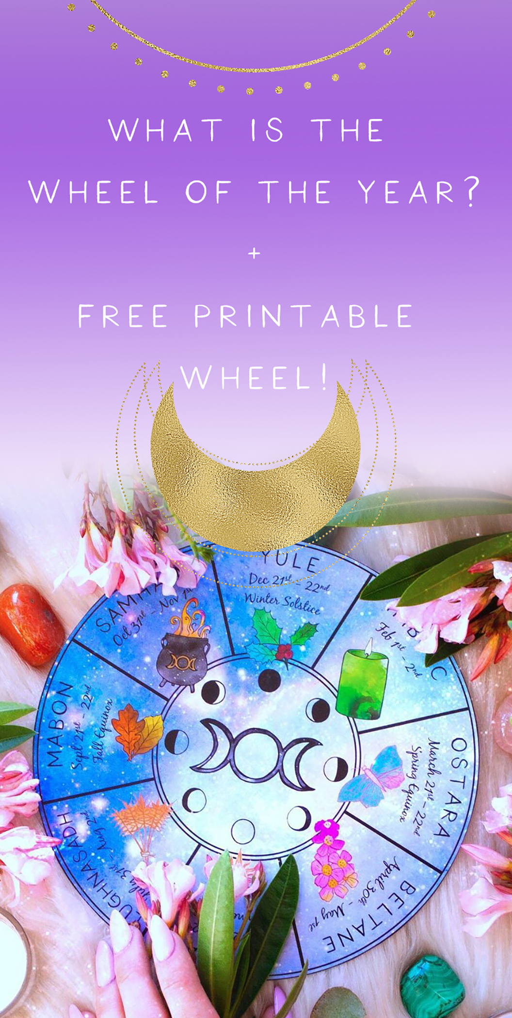 what is the wheel of the year free printable wheel of the year