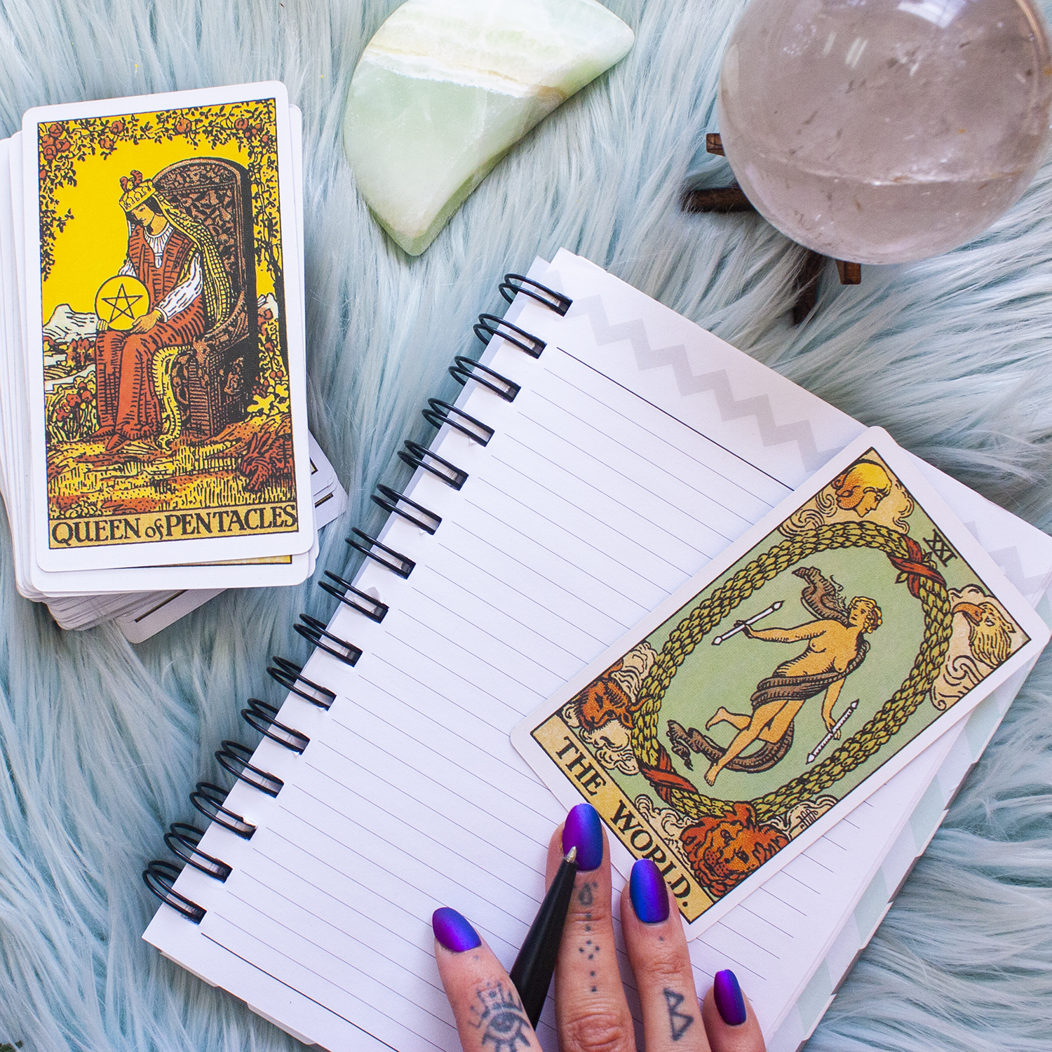 working with the tarot in journaling different ways to use your tarot cards