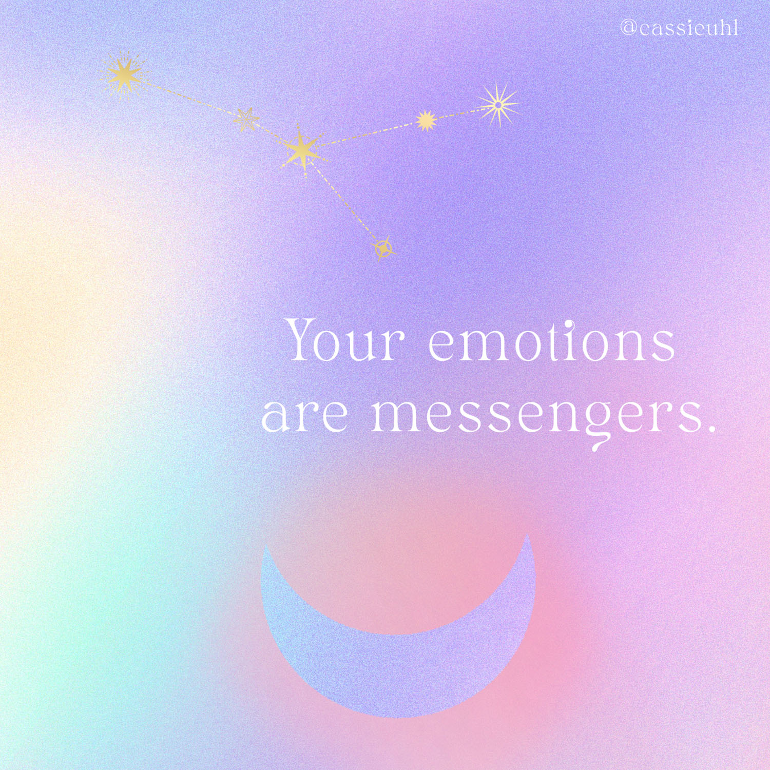 your emotions are messengers